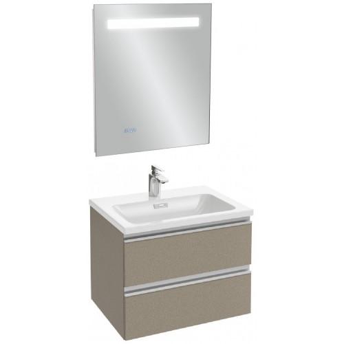 Мебель для ванной Jacob Delafon Vox 60 подвесная серая кожа