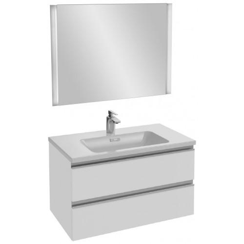 Мебель для ванной Jacob Delafon Vox 80 подвесная белая блестящая