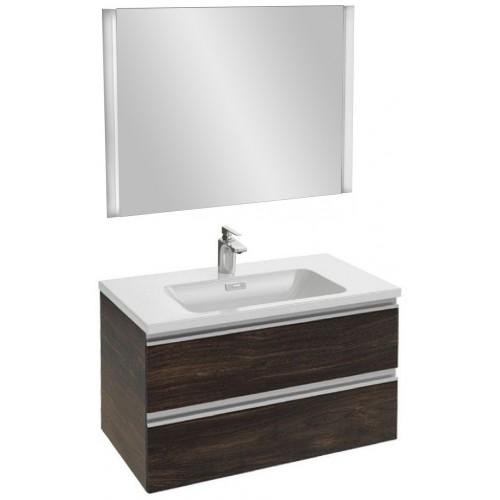 Мебель для ванной Jacob Delafon Vox 80 подвесная черное дерево