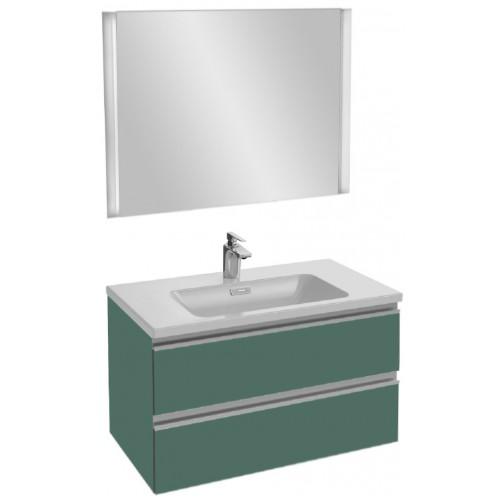 Мебель для ванной Jacob Delafon Vox 80 подвесная эвкалипт глянцевый