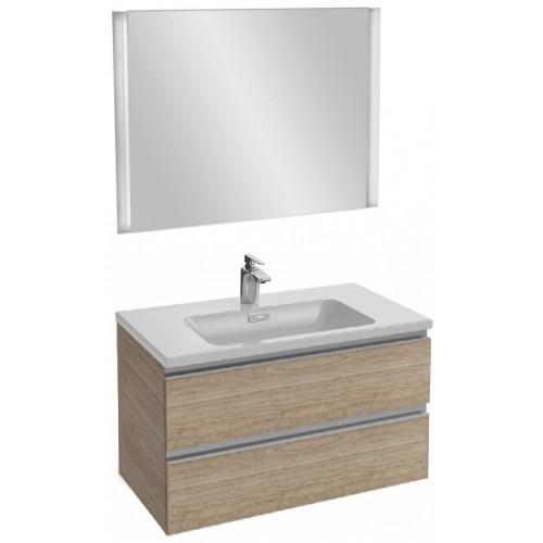 Мебель для ванной Jacob Delafon Vox 80 подвесная квебекский дуб