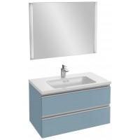 Мебель для ванной Jacob Delafon Vox 80 подвесная матовый аквамарин
