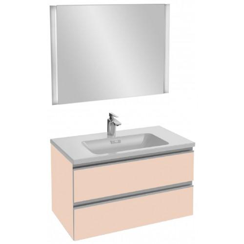 Мебель для ванной Jacob Delafon Vox 80 подвесная телесная глянцевая
