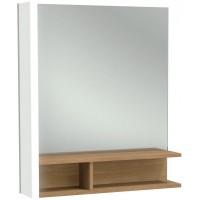 Зеркало Jacob Delafon Terrace 60x69 EB1180D-NF правое с подсветкой с полочкой