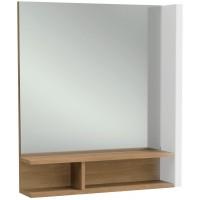 Зеркало Jacob Delafon Terrace 60x69 EB1180G-NF левое с подсветкой с полочкой