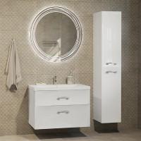 Мебель для ванной Marka One Belle 75П White