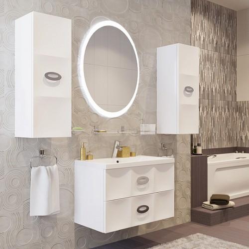 Мебель для ванной Marka One Carre 75П White