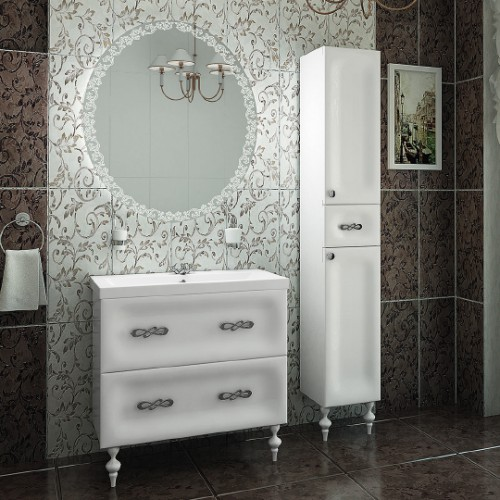 Мебель для ванной Marka One Joli 80Н White