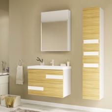 Мебель для ванной Marka One Mix 60П ПП с 2 ящиками, коко боло