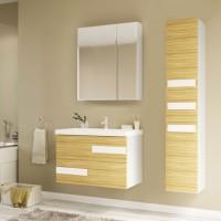 Мебель для ванной Marka One Mix 70П ПП с 2 ящиками, коко боло