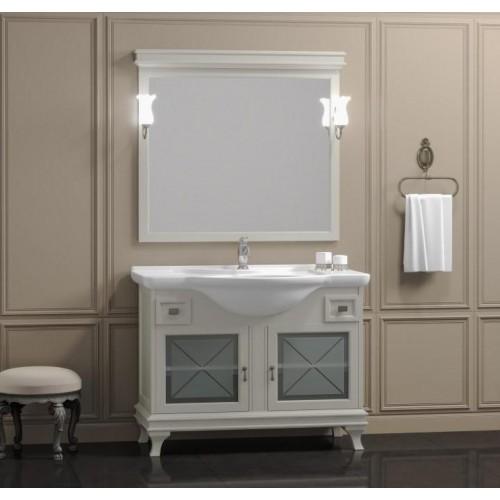 Мебель для ванной Opadiris Борджи 105 напольная слоновая кость