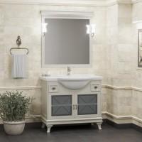 Мебель для ванной Opadiris Борджи 95 напольная слоновая кость