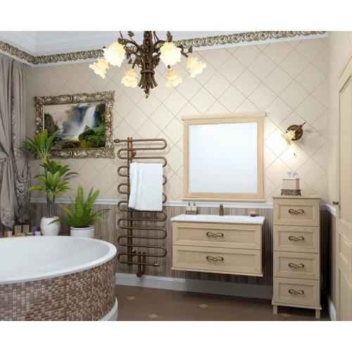 Мебель для ванной Opadiris Гарда 90 подвесная светлое дерево