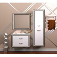 Мебель для ванной Opadiris Карат 100 подвесная серебро