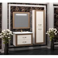 Мебель для ванной Opadiris Карат 100 подвесная золото