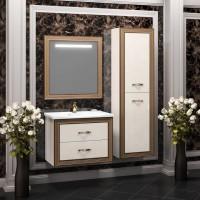 Мебель для ванной Opadiris Карат 80 подвесная золото
