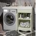 Мебель для ванной Opadiris Клио 120 напольная слоновая кость правая