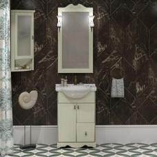 Мебель для ванной Opadiris Клио 55 напольная слоновая кость