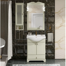 Мебель для ванной Opadiris Клио 65 напольная слоновая кость