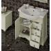 Мебель для ванной Opadiris Клио 80 напольная слоновая кость