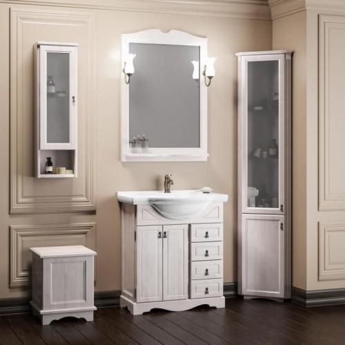 Мебель для ванной Opadiris Клио 80 напольная светлое дерево