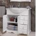 Мебель для ванной Opadiris Клио 90 напольная белая