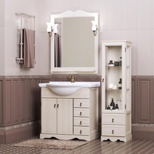 Мебель для ванной Opadiris Клио 90 напольная светлое дерево