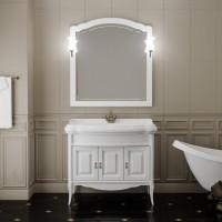 Мебель для ванной Opadiris Лоренцо 100 напольная белая