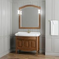 Мебель для ванной Opadiris Лоренцо 100 напольная темное дерево