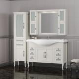 Мебель для ванной Opadiris Мираж 120 напольная слоновая кость