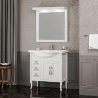 Мебель для ванной Opadiris Мираж 80 напольная слоновая кость