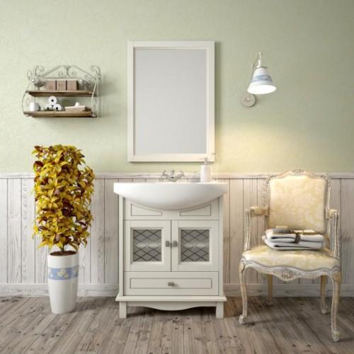 Мебель для ванной Opadiris Омега 65 напольная cлоновая кость