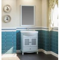 Мебель для ванной Opadiris Омега 65 напольная голубая