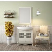 Мебель для ванной Opadiris Омега 75 напольная cлоновая кость