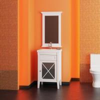 Мебель для ванной Opadiris Палермо 50 напольная белая правая