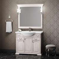 Мебель для ванной Opadiris Риспекто 105 напольная светлое дерево