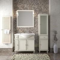 Мебель для ванной Opadiris Санрайз 90 напольная cлоновая кость правая