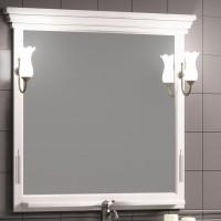 Зеркало Opadiris Риспекто 104x101 Z0000004917 с полочкой