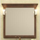 Зеркало Opadiris Риспекто 104x101 Z0000004918 с полочкой