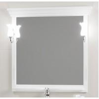Зеркало Opadiris Риспекто 104x101 Z0000012538 с полочкой