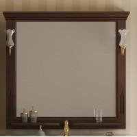 Зеркало Opadiris Риспекто 109x101 Z0000000694 с полочкой
