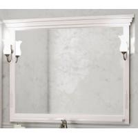 Зеркало Opadiris Риспекто 129x101 Z0000009684 с полочкой