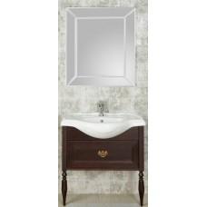 Мебель для ванной Roca America Evolution L 85 подвесная дуб темный шоколад