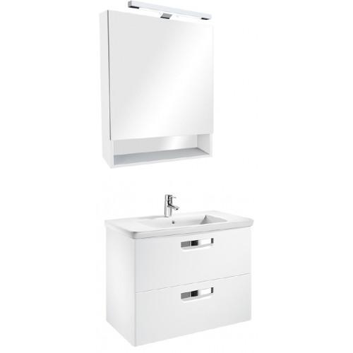 Мебель для ванной Roca Gap 70 подвесная белая глянцевая