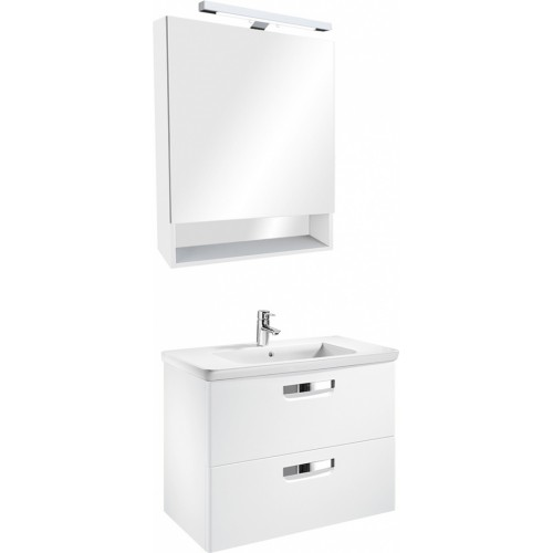 Мебель для ванной Roca Gap 70 подвесная белая матовая