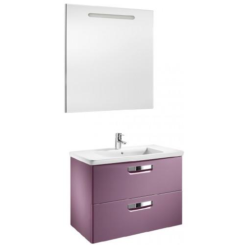 Мебель для ванной Roca Gap 80 подвесная фиолетовая