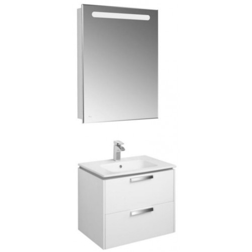 Мебель для ванной Roca Lago 61 подвесная левая белая