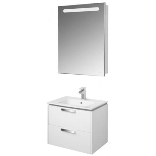 Мебель для ванной Roca Lago 61 подвесная правая белая