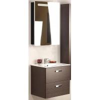 Мебель для ванной Roca Victoria Nord 60 подвесная правая зеркальный шкаф черный глянцевый