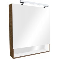 Зеркало-шкаф Roca Gap 80х85 ZRU9302846 с подсветкой